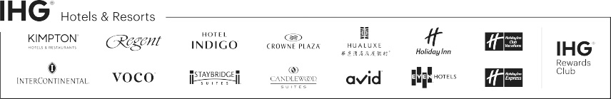 IHG Hotels & Resorts logos